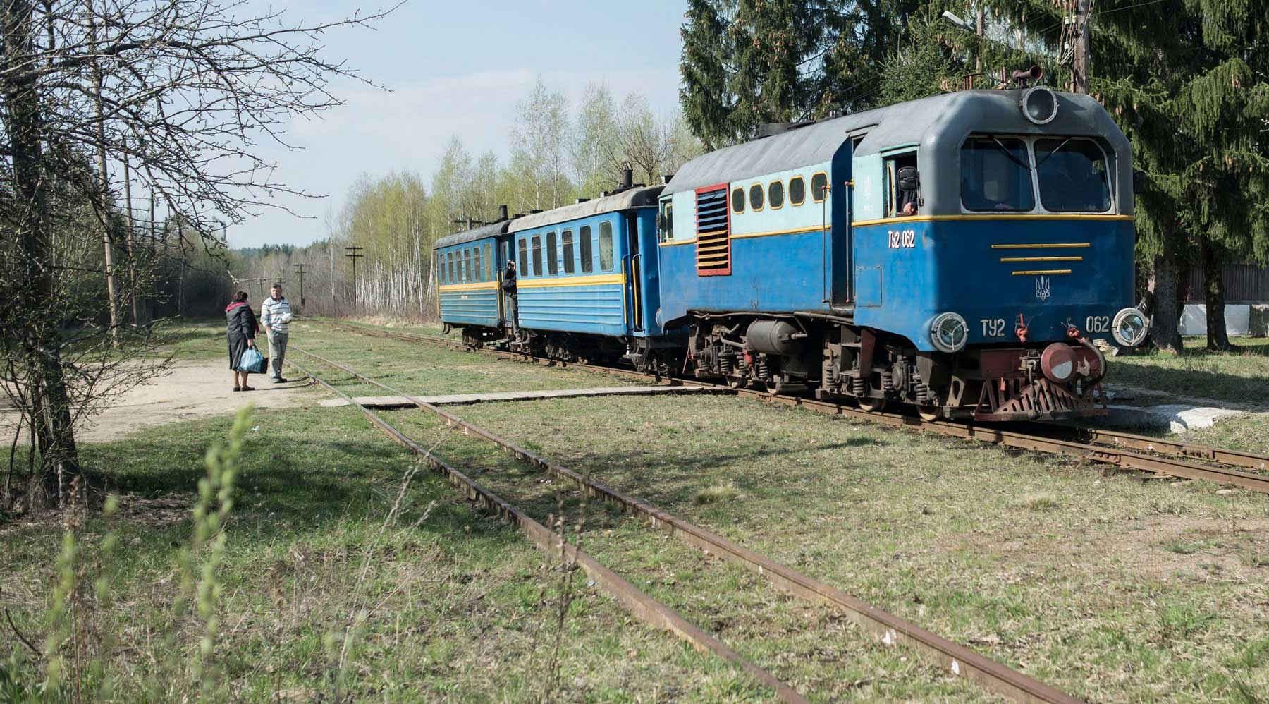 Το τραίνο της Πολίσσια: Ο κεχριμπαρένιος δρόμος