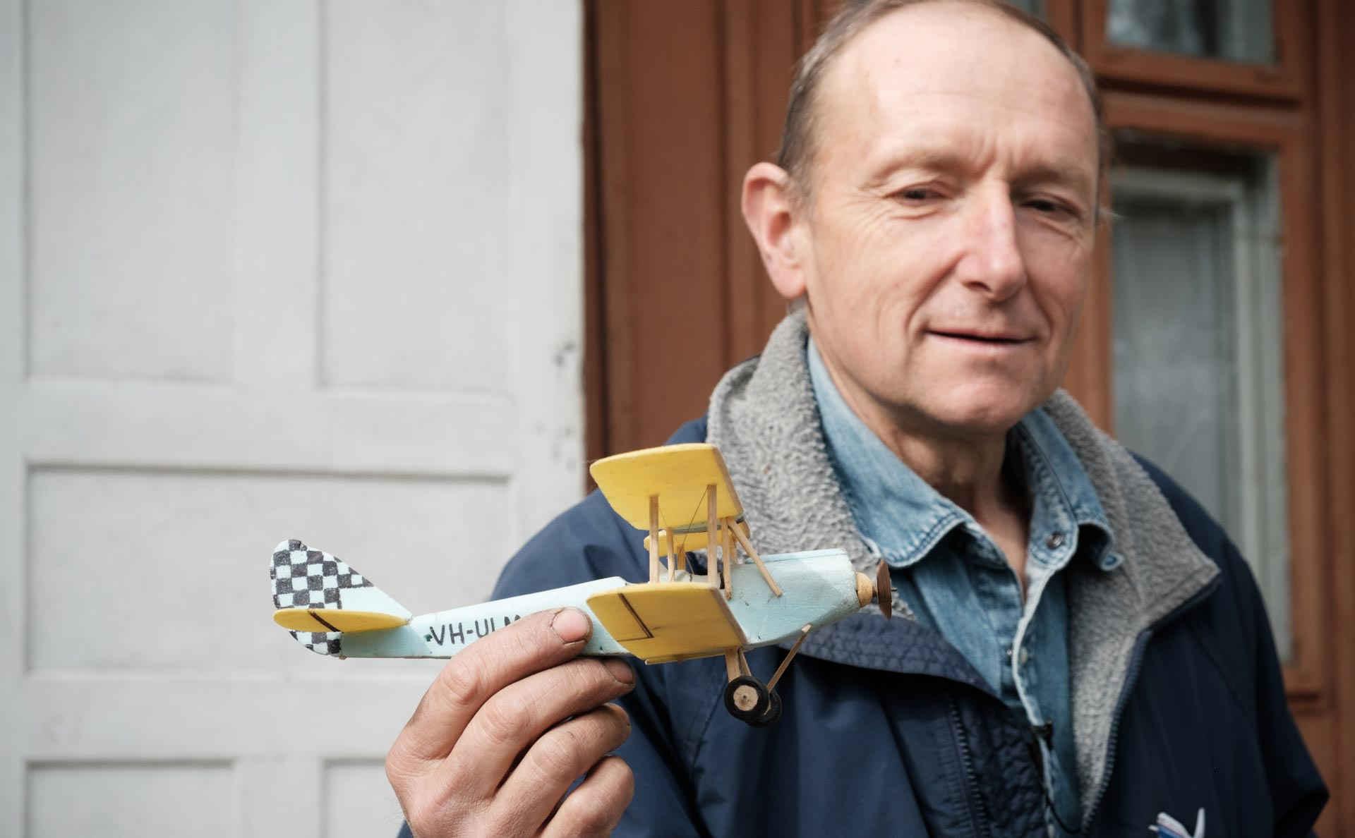 Velký sen – dřevěné letadlo