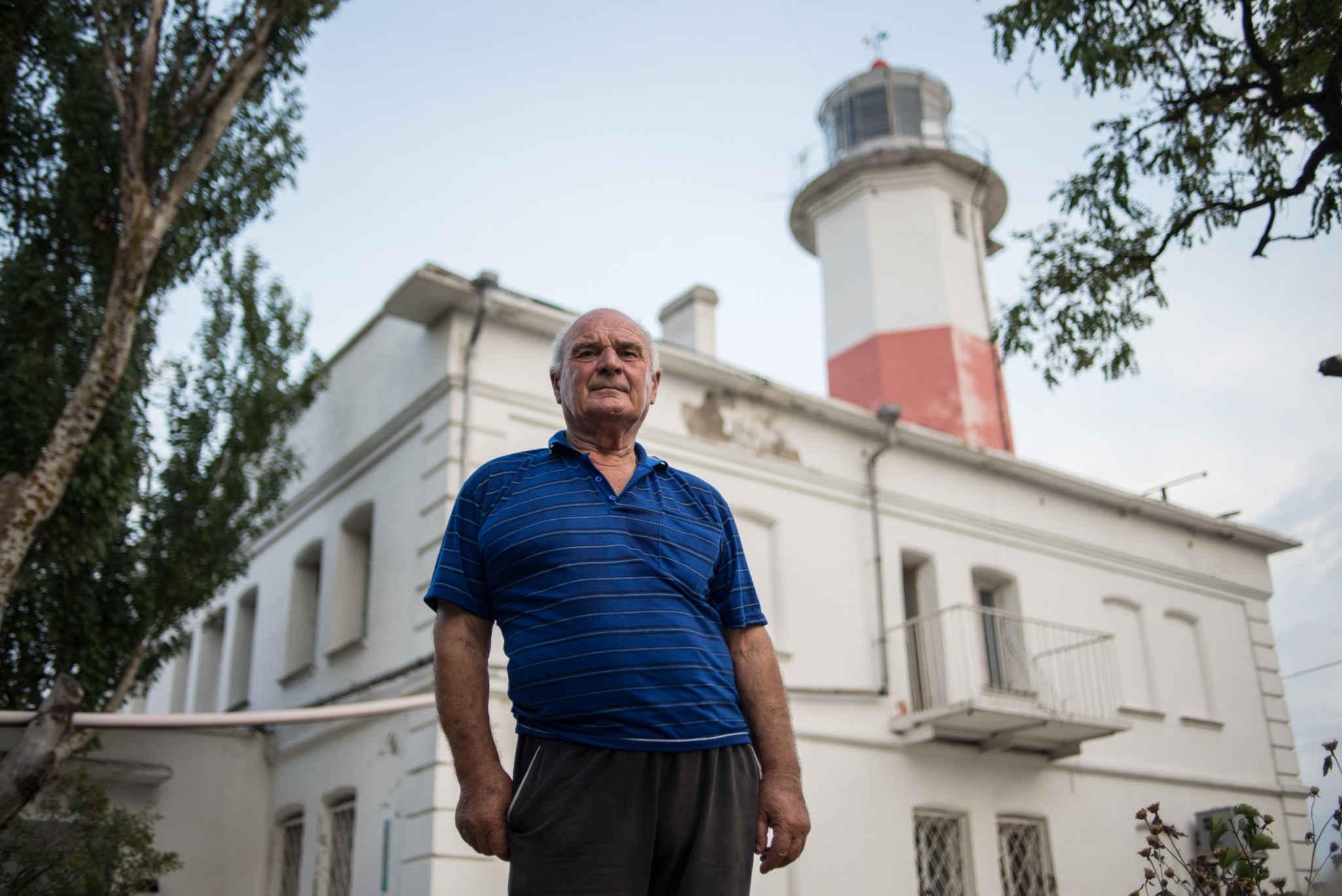 50 Jahre lang auf einem Leuchtturm