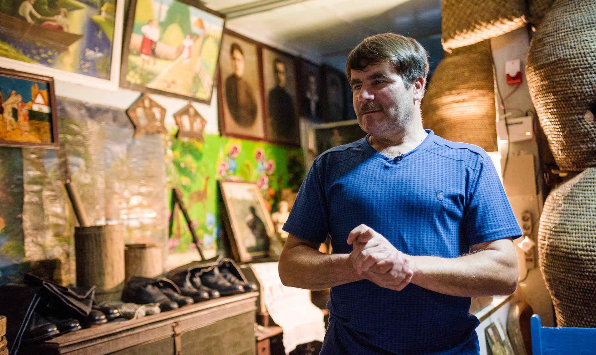 Jurij i jego muzeum Moskalów