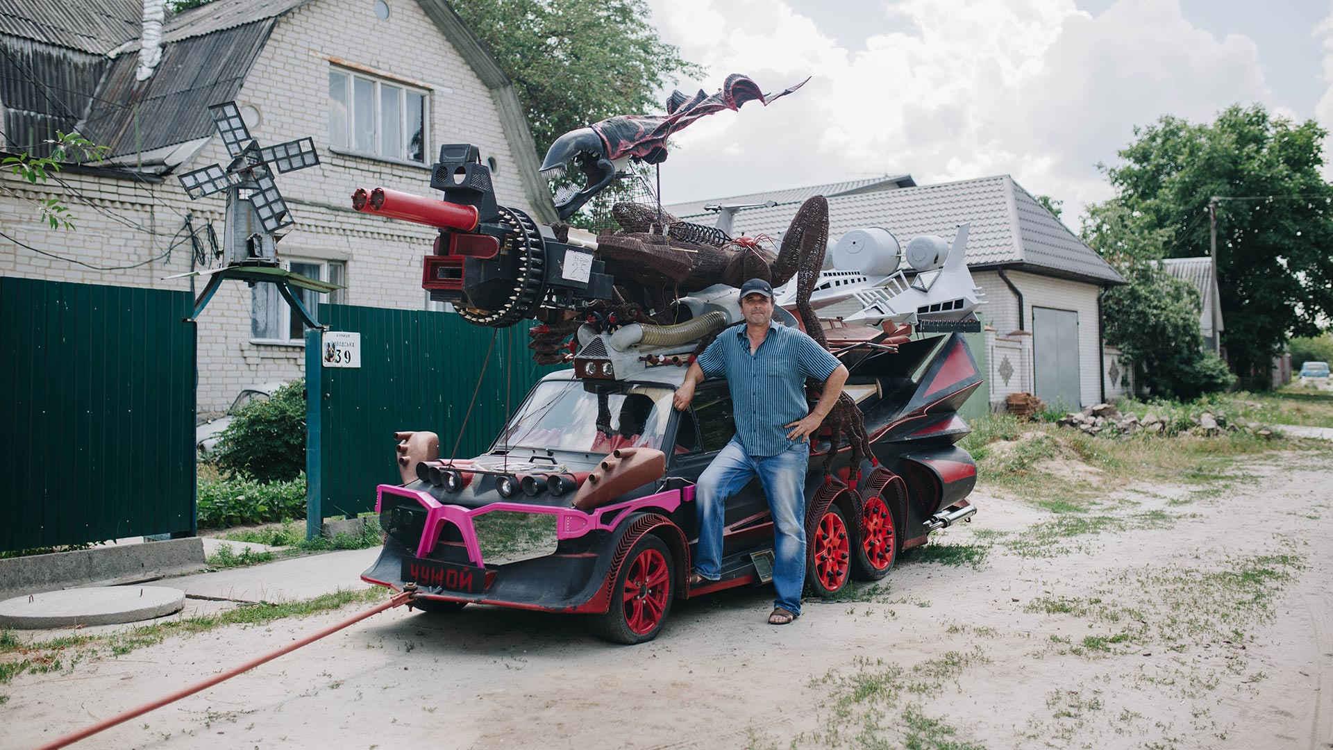 Nie mogę kupić samochodu, więc zbuduję go sam!