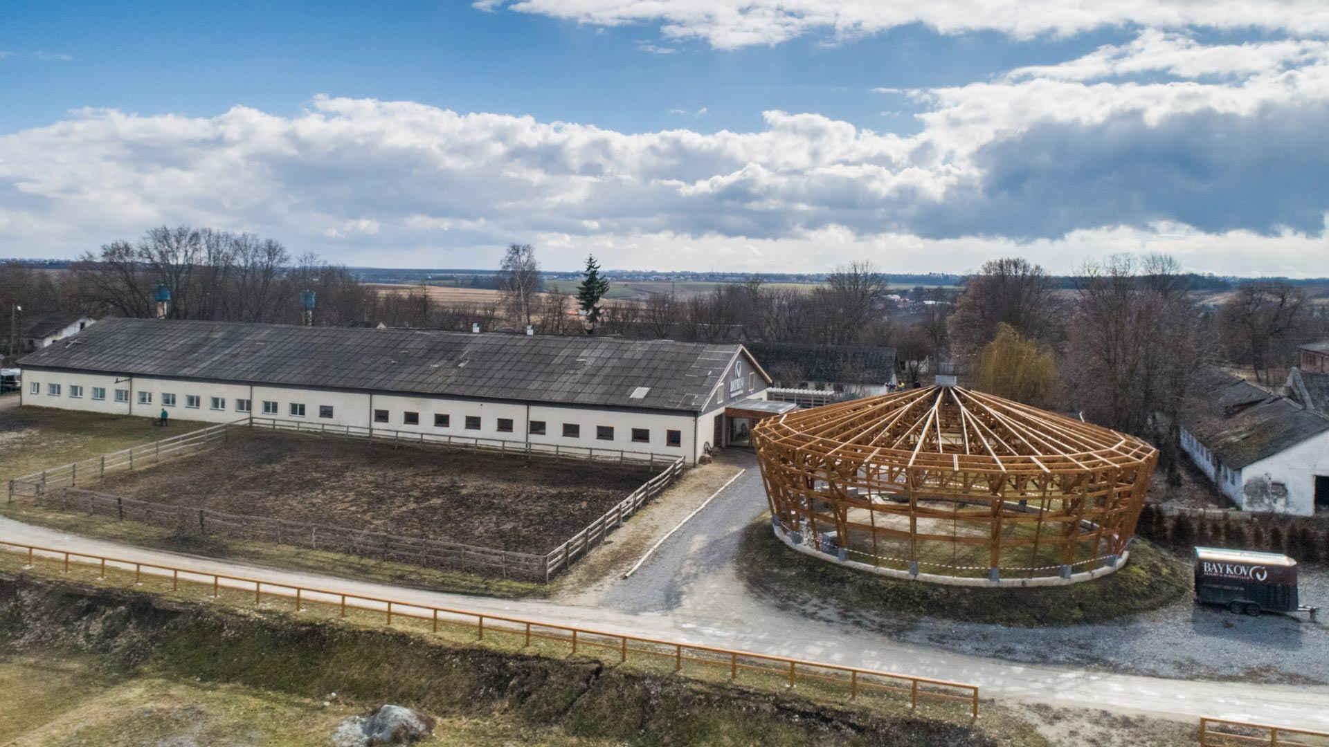 Baikovetska hromada: big enterprise and an observatory