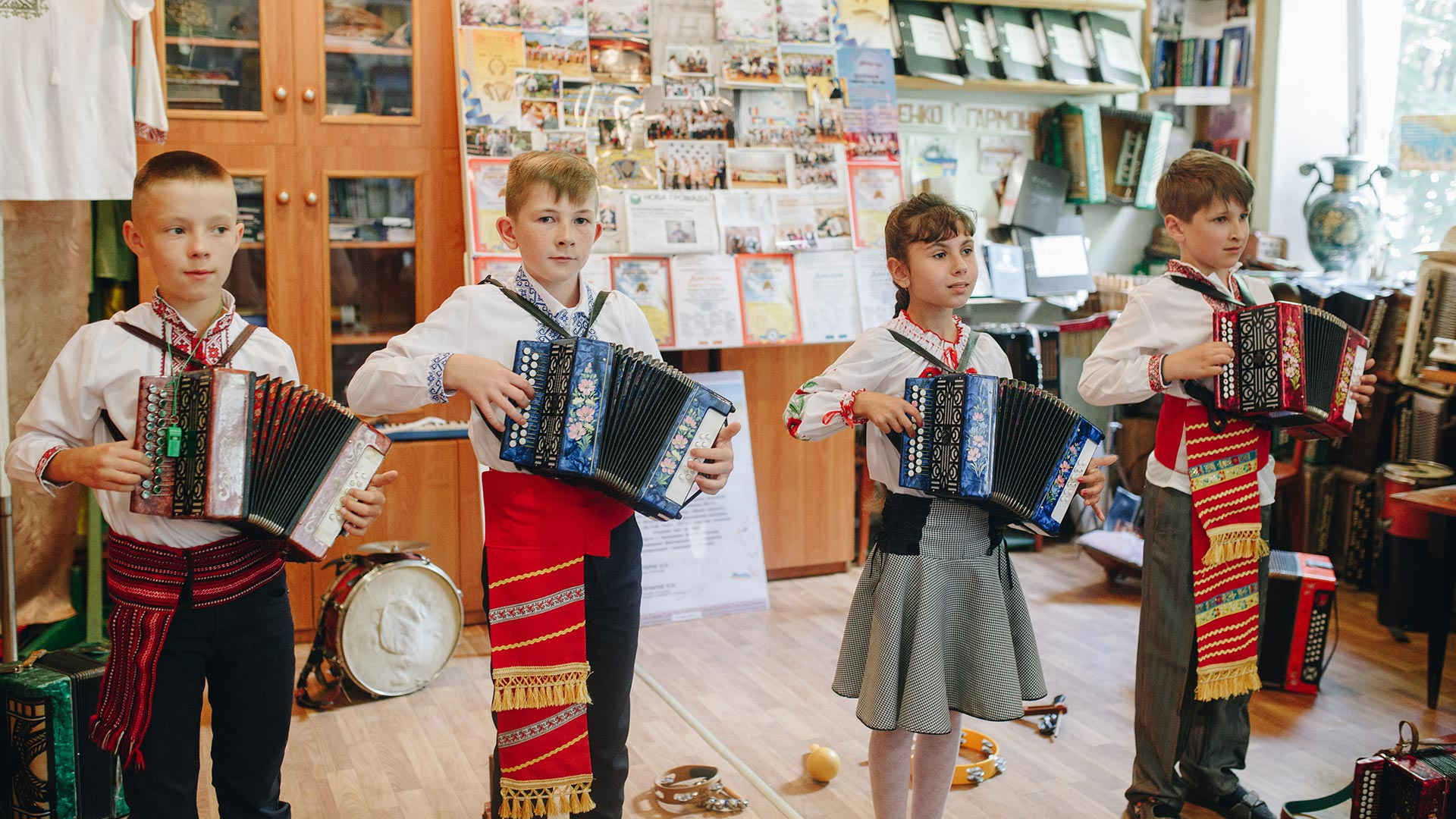 The Living Museum of Accordions in Zhashkiv