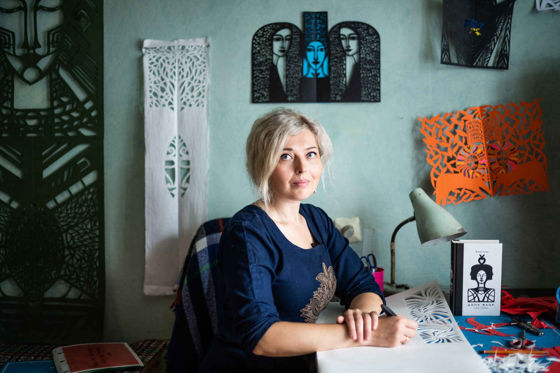 Vytynanka: from traditional craft to contemporary interior design