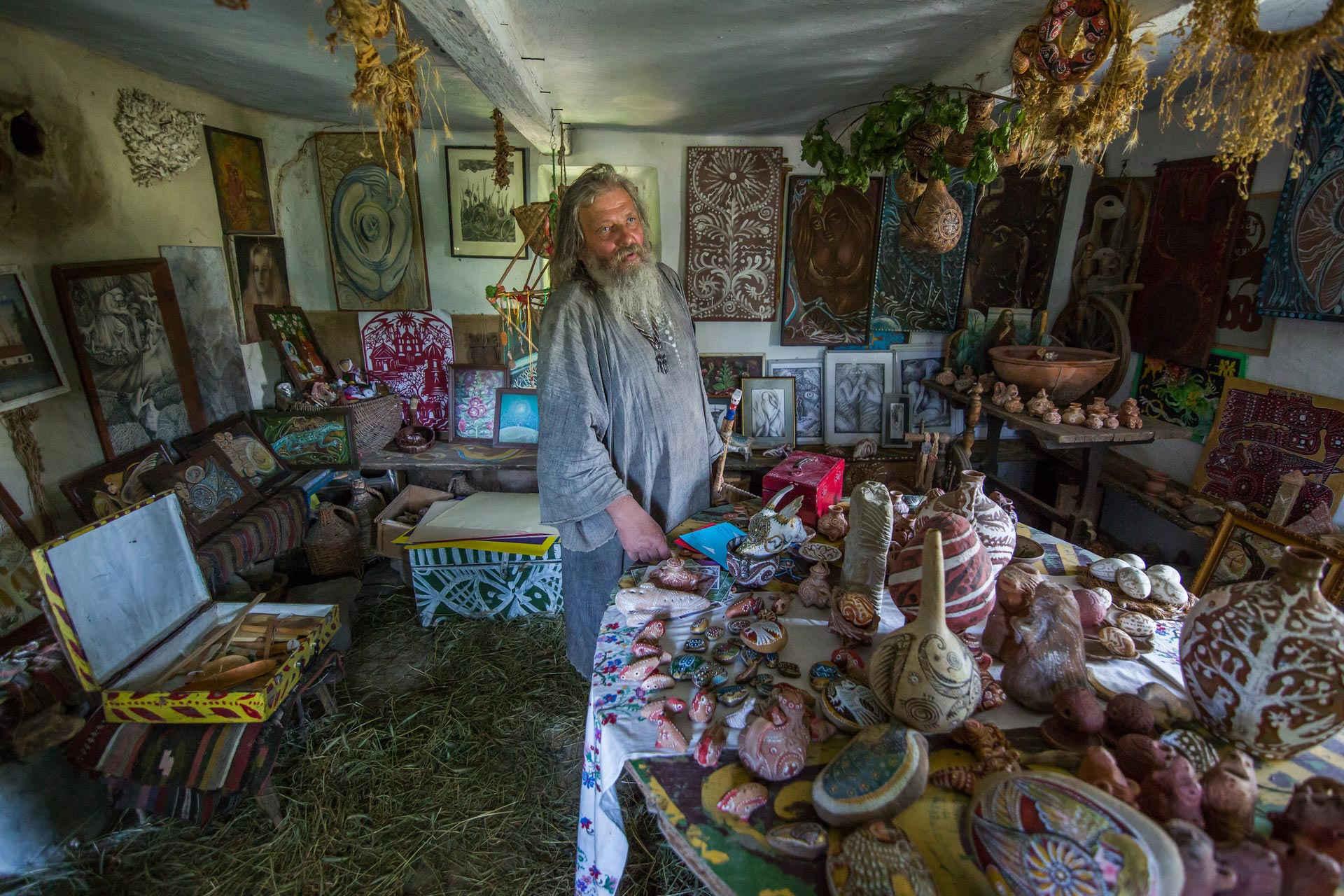 Bukatynka. Živé muzeum v opuštěných domech