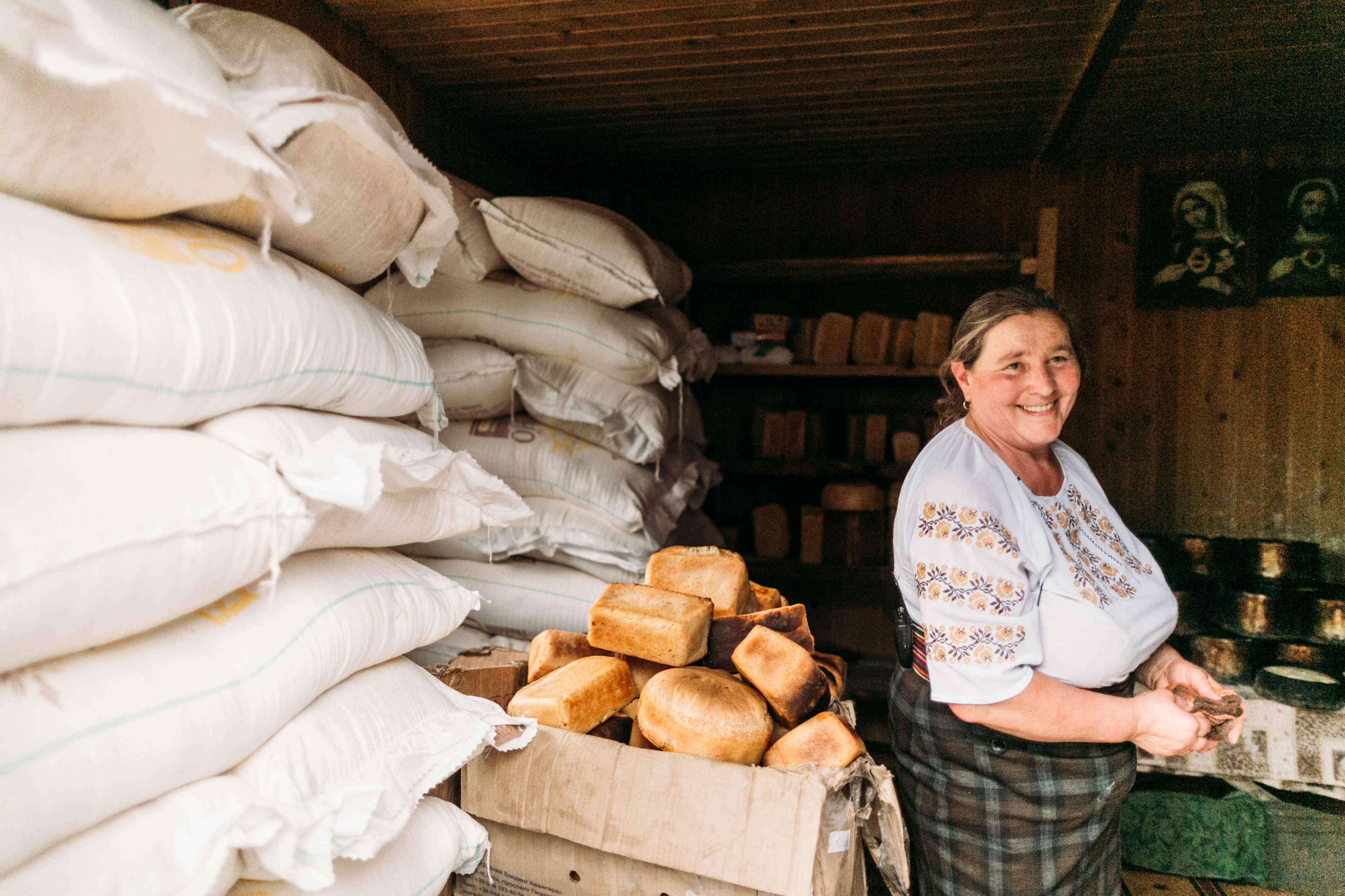 Гуцульский хлеб для Карпат