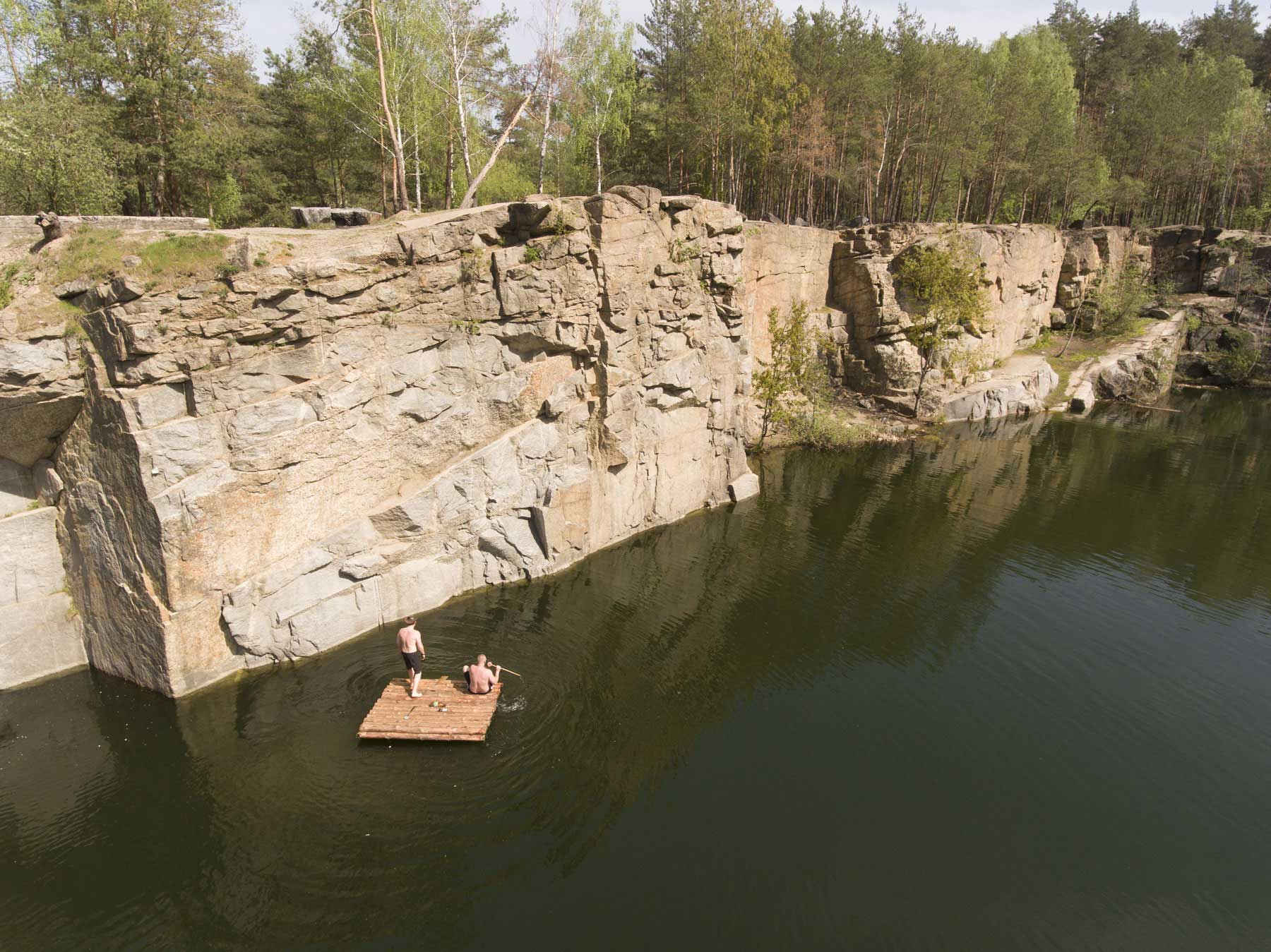 The Korostyshiv canyon