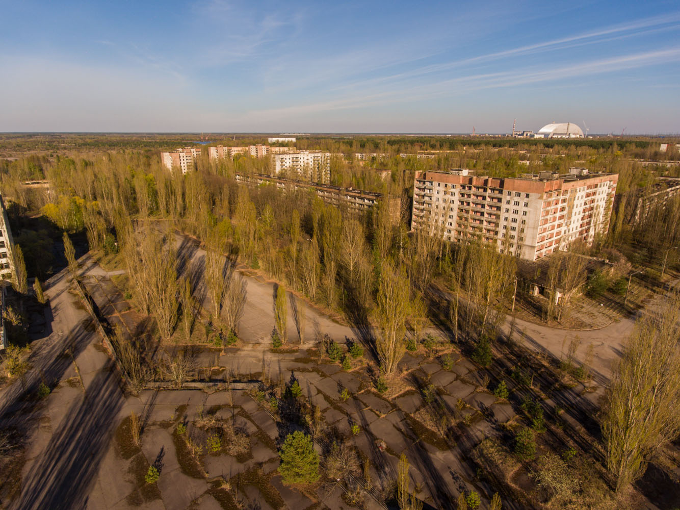 Die Sperrzone von Tschornobyl: alle Materialien der Expedition