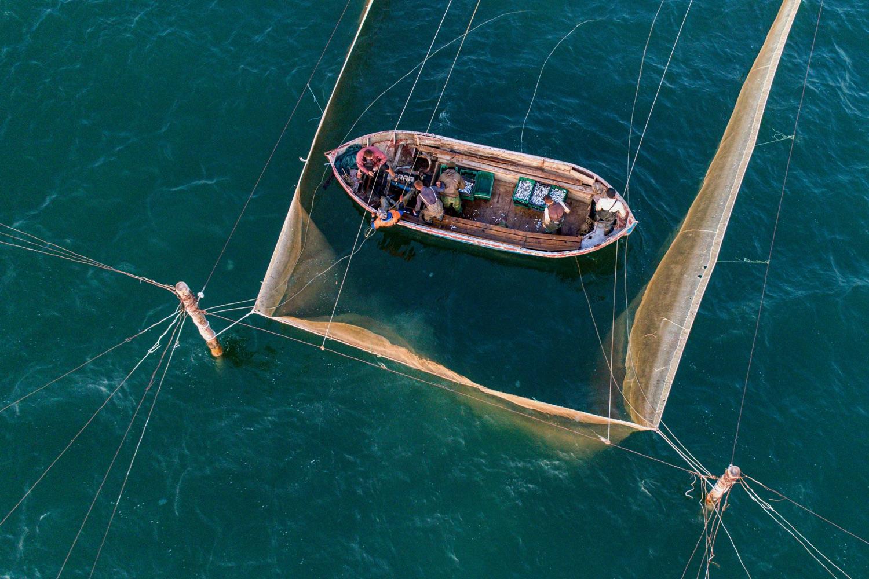У дельті Дунаю. Рибалки Бессарабії