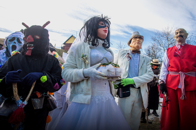 Маланка у Космачі. Гуцульський карнавал